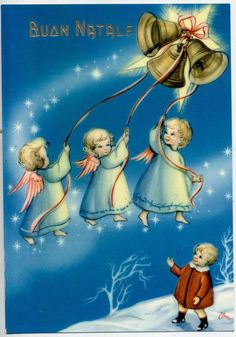 Angels & Childrens Complete set of 6 glossy postcards PC Circa 1950 A Christmas Card Images, Old Christmas, Christmas Clipart, Christmas Nativity, Vintage Christmas Cards, Christmas Angels, Vintage Cards, Holiday Cards, Xmas