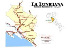 Off The Beaten Track in Tuscany: La Lunigiana: Lunigiana Map and Travel Guide