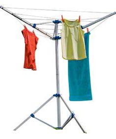 Freestanding 15m 3-Arm Outdoor Rotary Airer.