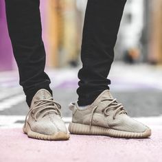 """adidas YEEZY Boost 350 """"Oxford Tan"""" Yeezy Outfit, Yeezy By Kanye West, Hype Shoes, Yeezy 350, Yeezy Shoes, Shoe Collection, Designer Shoes, Sneakers Fashion, Man Fashion"""