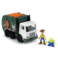 Toy Story 3 Imaginext- He has the Buzz Toy Story Imaginext set, but he loves the whole new series.