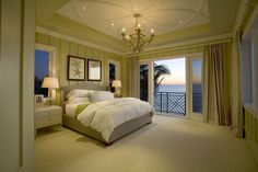 This stunning beach-themed guest bedroom was completed by Robelen Hanna Homes. #luxeFL