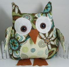 I love this little guy from Cute stuff by Shirley: Stampin' Up Fabric Owls .... with Flirtatious, Twitterpated and Spice Cake Fabrics