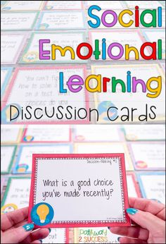 Social Emotional Learning Task Cards Social Emotional Learning Task Cards,Behavior Related posts:Lakeshore Feelings & Emotions Dough Mats - EducationThe Social Skills Challenge: Enforcing Target Skills in Speech Social Emotional Activities, Counseling Activities, Learning Activities, Emotional Support Classroom, Emotional Kids, Therapy Activities, Elementary School Counseling, School Social Work, School Counselor