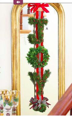 3d Drawings, Christmas Banners, Christmas Tablescapes, Red Berries, Ladder Decor, Greenery, Joy, Letters, Wreaths