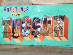 "Mural Artist Victor Ving and Photographer Lisa Beggs started the ""Greetings Tour"" two years ago to create public art that captures the pride of local residents."