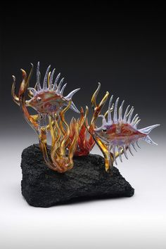 Carnival Fish 2014 Ayala Glass. All Rights Reserved. Stunning Artwork!