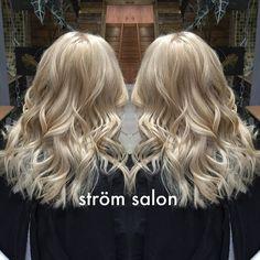 ASH BLONDE full head bleach and tone with @olaplex @olaplexuk #hair #bleach…