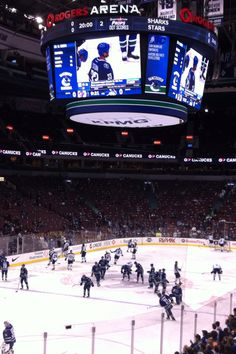 Rogers Arena - Go Canucks!