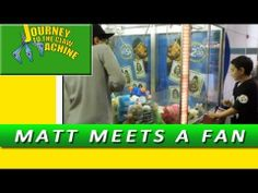 Matt Meets a Fan - Journey to the Claw Machine Vending Machine Hack, Vending Machines, Claw Machine, The Claw, Claws, Journey, Fan, Vending Machine, The Journey