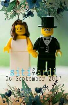 Wedding lego