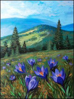 "Paint Nite painting ""Peaceful Pine Lake"" by artist Carmen Maciboric from White City, Saskatchewan, Canada Watercolor Landscape, Landscape Art, Landscape Paintings, Contemporary Landscape, Landscape Borders, Landscape Quilts, Watercolor Artists, Watercolor Paintings, Acrylic Painting Canvas"