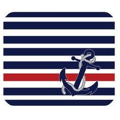 Customized Original Nautical Chevron Anchor of Stripes Pattern Anchor Gaming Mouse Pad Rectangle Mouse Mat Custom Mousepad http://www.amazon.com/dp/B00M2UAVK0/ref=cm_sw_r_pi_dp_EM3xub1AAA8M7