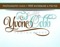 Stylish photography logo design FREE watermark and by Signtific Watermark Design, Camera Logo, Photographer Logo, Photography Logo Design, Business Logo, Custom Design, Stylish, Cards, Free