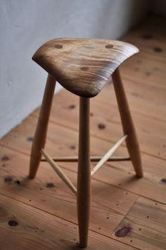 stool 3-leg - 椅子ノ杜 五郎