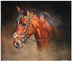 FRANKEL and Tom Queally Limited Edition Horse Racing Print by Sean McMahon