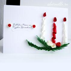 Рождественская открытка своими руками