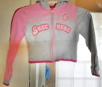 Girls Skecher�s Hoodie Jacket