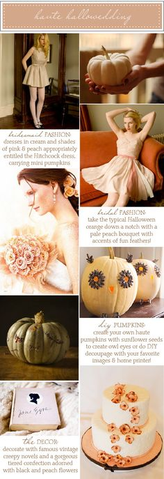 Like the flowers on the cake, but it needs something other than a white background. Cute pumpkin owls