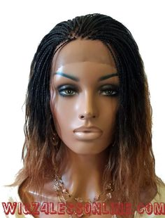 Updo Hairstyle Custom Braided Wet N' Wavy Remy Hair Blend Whole Lace Wig - French Braid Hairstyles, Try On Hairstyles, Box Braids Hairstyles, Trending Hairstyles, Black Hairstyles, Updo Hairstyle, Teenage Hairstyles, Bun Updo, Hairstyles 2018