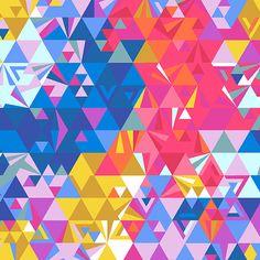 Remix Ex Libris Geometry Sunset