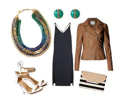 """Stella on the town."" by sarah-labancz on Polyvore featuring Stella & Dot and Topshop"