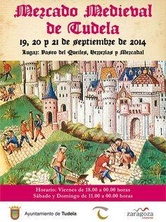 Mercado Medieval en #Tudela #Navarra 19-21 sept.