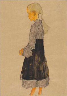 'austrian girl' by egon schiele