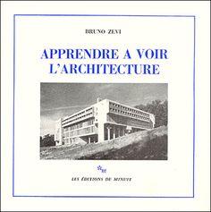 """Résultat de recherche d'images pour """"apprendre a voir l'architecture"""""""
