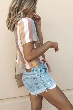 75+ Trending Summer Outfits You Will Love | Wachabuy Mom Outfits, Tank Top Outfits, Vacation Outfits, Short Outfits, Spring Outfits, Spring Summer Fashion, Cute Outfits, Fashion Outfits, Womens Fashion