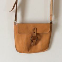 GAP leather bag Gorgeous burnt umber leather bag by Gap.  In excellent condition.  Strap has a little wear.    2/10/20 GAP Bags Shoulder Bags