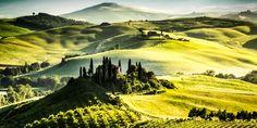 Viewranger GPS files for the Via Francigena [Tuscany]: Radicofani-Siena-San Gimignano-Lucca-Massa 12 Stages Lucca, Siena, Tuscany, Mountains, Nature, Travel, Outdoor, Santiago, Drive Way
