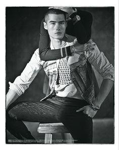 Hao Yun Xiang is Elegant for Mens Uno China image Hao Yun Xiang 003 #CAMISARIA  #listrados #ALGODOES #JACQUARDS