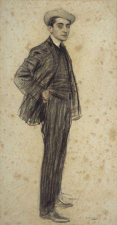 Retrato de Xavier Gose Rovira (1876-1915). Ramon Casa Carbó. MNAC