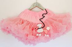 Deluxe Full and Fluffy Chiffon 50's Girl  Pink by LovCouture, $65.00