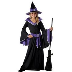 Child Glamour Witch Costume - Kids Witch Halloween Costumes