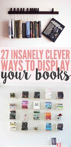 27 Insanely Clever Ways To Display Your Books