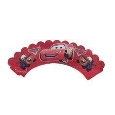 Cars Cupcake SüsüŞimşek Mekkuin Kek Kabı Ürün ÖzellikleriÜrün Paketinde 10 Adet Cars Kek kalıbı süsü bulunur.Karton Cars Kek Sargıları Kaliteli baskı ve canlı renktir.Kap kek süsü keklerinizin etrafına sarılarak kullanılır.Cars Doğum günü konseptine uygun mükemmel bir üründür.
