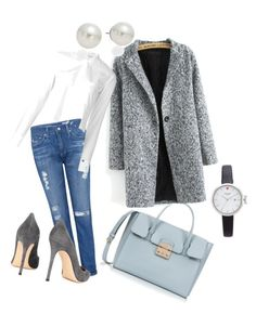 Sans titre #7 by coralie-allard on Polyvore featuring polyvore, fashion, style, Helmut Lang, AG Adriano Goldschmied, Gianvito Rossi, Furla, Kate Spade, AK Anne Klein and clothing