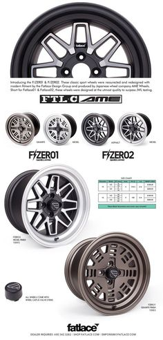 FZERO1 / FZERO2 by Fatlace produced by AME Wheels