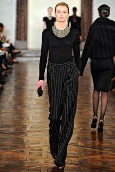 Ralph Lauren, fall 2012 #nyfw #runway