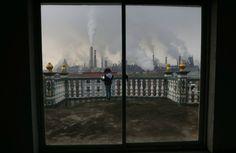 Girl Reading on Balcony, Quzhou, China, 2014, William Hong