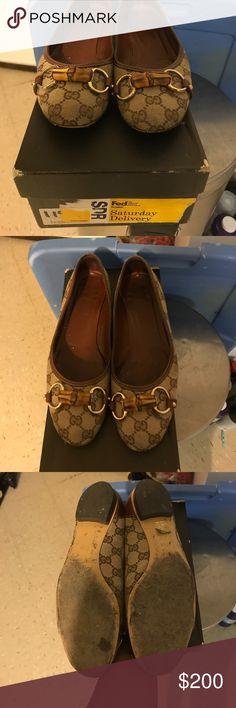Gucci flats Brown gucci bamboo flats Gucci Shoes Flats & Loafers
