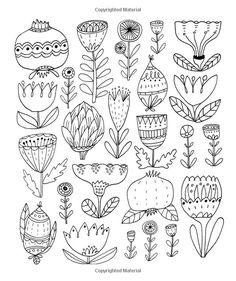 New drawing line flower coloring pages 49 Ideas Flower Coloring Pages, Colouring Pages, Coloring Books, Ink Doodles, Flower Doodles, Botanical Line Drawing, Botanical Art, Line Flower, Flower Art