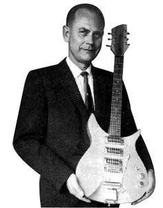 """El inventor de la guitarra eléctrica fue nada menos que Adolph Rickenbacker y cuyo apellido es la marca de una de las más prestigiosas guitarras del mundo. En 1931 se le ocurrió crear una pastilla magnética que amplificará el sonido de las cuerdas que para el caso debían ser metálicas. Junto a George Beauchamp fundó la primera empresa de """"Guitarras Eléctricas"""" (Rickenbacker) que pronto se hizo mundialmente famosa."""
