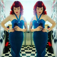 Glitter Paradise's Official English Model @stephaniejay_uk  Rocking the Amazing new @violetsinmay pencil skirt with pockets and the Kitty atomic top. Lush pin on the top is by @glitterparadise. Bangle by @splendette. Swoon!  https://www.etsy.com/uk/listing/291178241/kitty-atomic?ref=shop_home_active_6  #pinupgirl #Christmas #pinup #pinupmodel #lurex #girl #tattoo #girlswithtattoos #inkedgirls #redhead #pinupmakeup #selfie #glamour #weekend #London #happy #model #modelling #office #redlips…