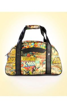 Pinup Girl Clothing- Marvel Retro Collection Gym Bag | Pinup Girl Clothing