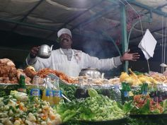 Djemaa El Fna Square, Local Eats, a Taste of Marrakech.