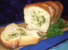 cheese and garlic filled bread