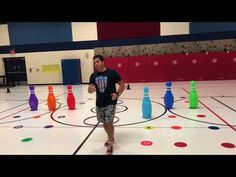 YouTube Pe Activities, Team Building Activities, Fitness Activities, Physical Activities, Elementary Physical Education, Elementary Pe, Health And Physical Education, Pe Lessons, Pe Ideas
